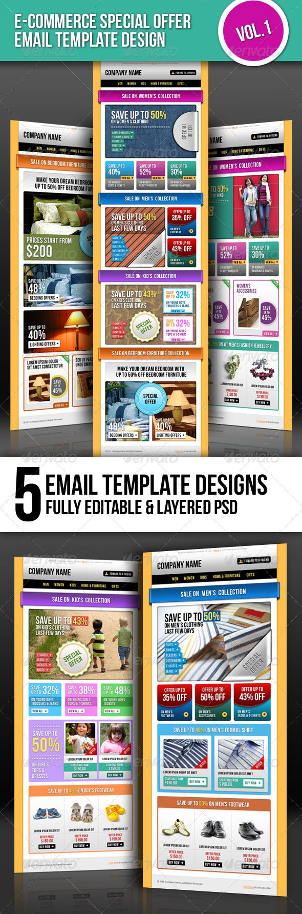 E-commerce Special Offer Email Template Vol.1