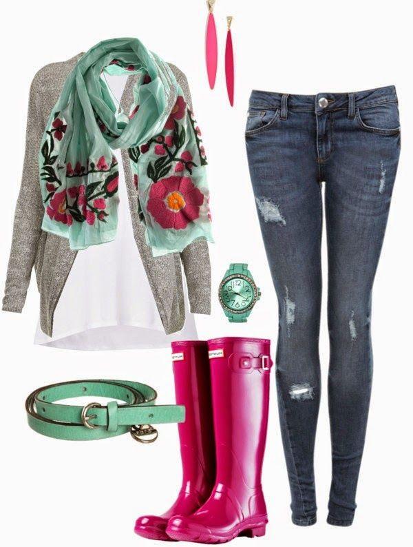 The Closet Coach: Rainy Day Chic                                                                                                                                                     More