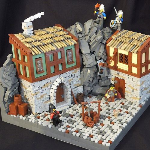 Mountain Village Raid Lego Pinterest The Roof Lego