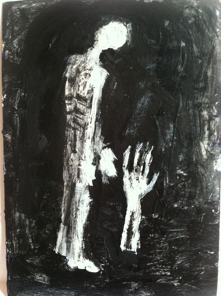 """RESURRECTOR""   abstract,   original art,ACEO  jack larson 3.5""x2.5"" #Abstract"