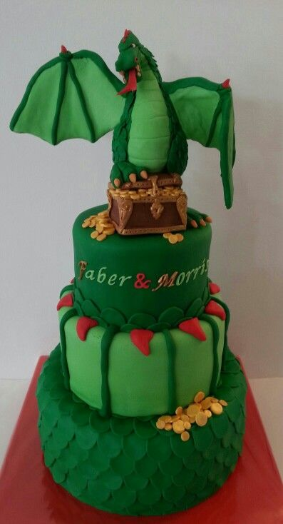 1289 Best Dragon Cakes Images On Pinterest Amazing Cakes