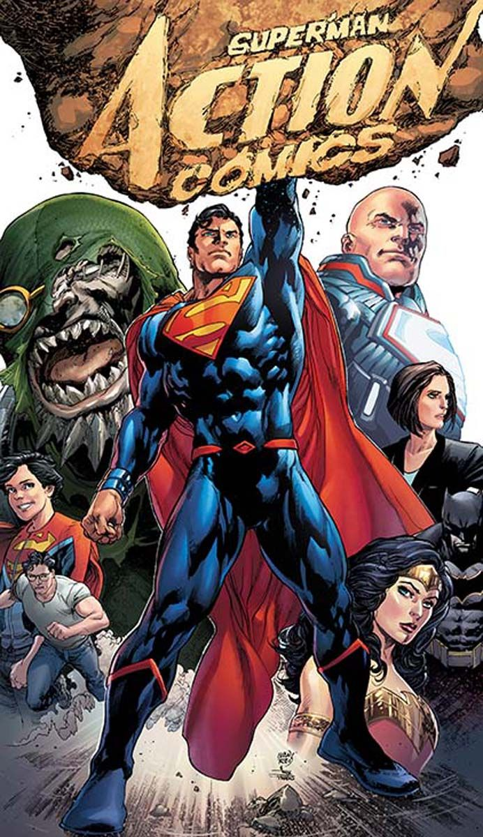DOOMSDAY, SUPERMAN, SUPERBOY & More In New ACTION COMICS Cover | Newsarama.com