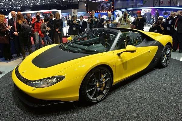 Monkey Motor: Ferrari Pininfarina Salón de Ginebra 2015