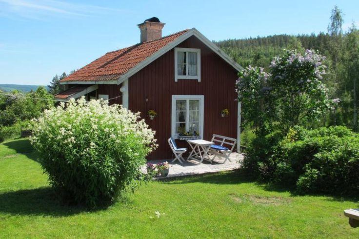 De tuin en Bagarstugan