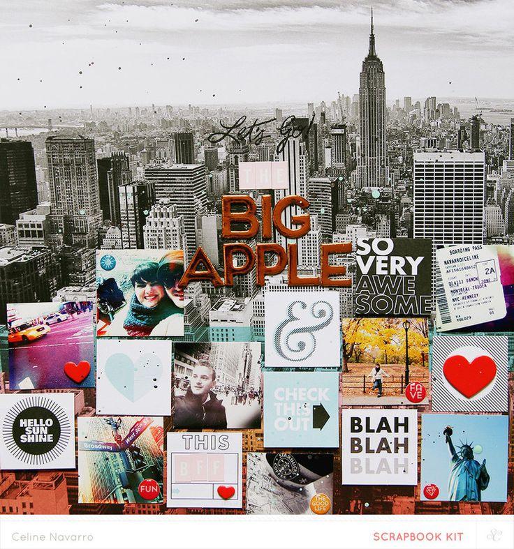Let's Go to the BIG APPLE *Main Kit* by celine navarro at @studio_calico