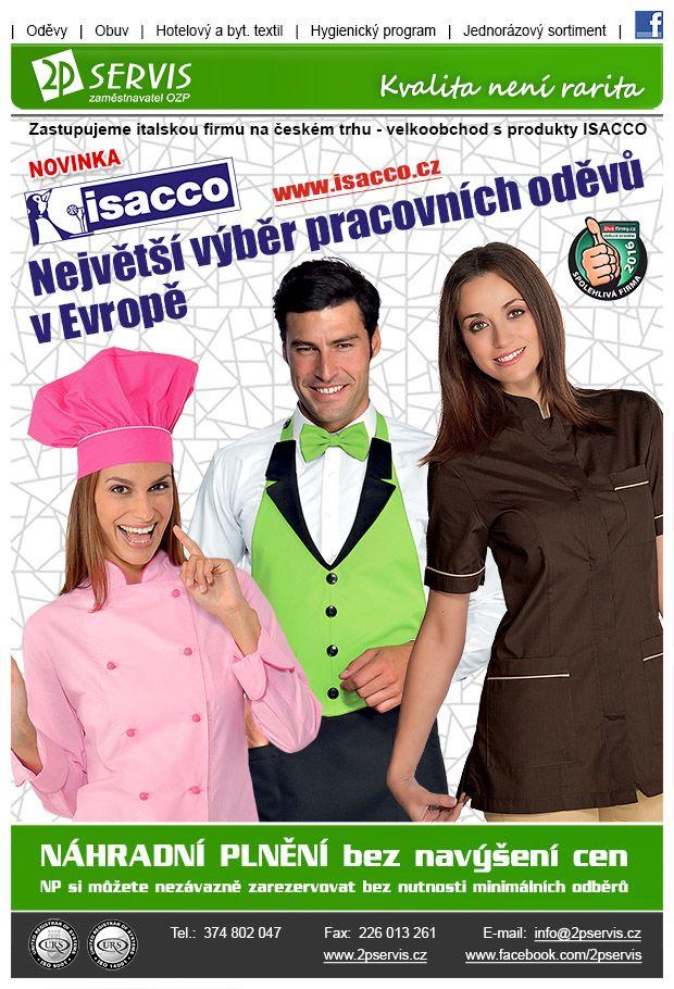 ★ ★ Nové trendy profesních oděvů italské výroby ★ ★