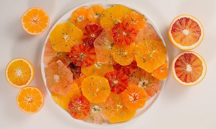 Sitrussalat med myntesukker er den nye fruktsalaten | EXTRA -
