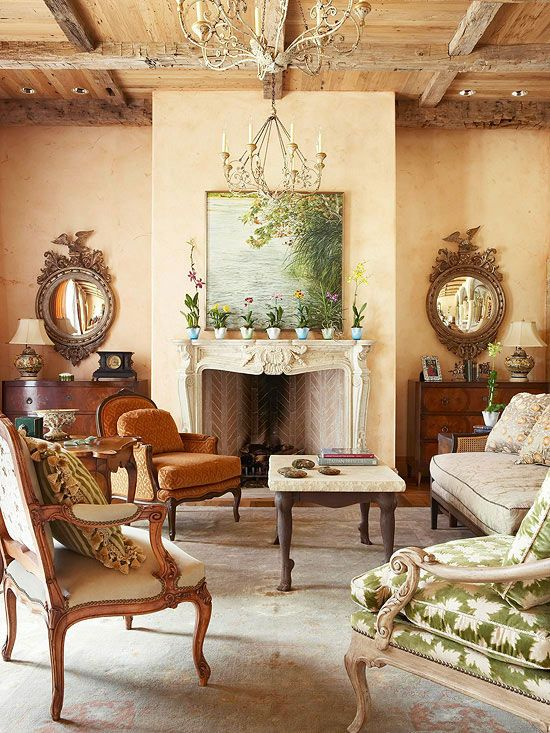 Decorating Gallery Tuscan Decorating Style Decorating Bhg Spring Style
