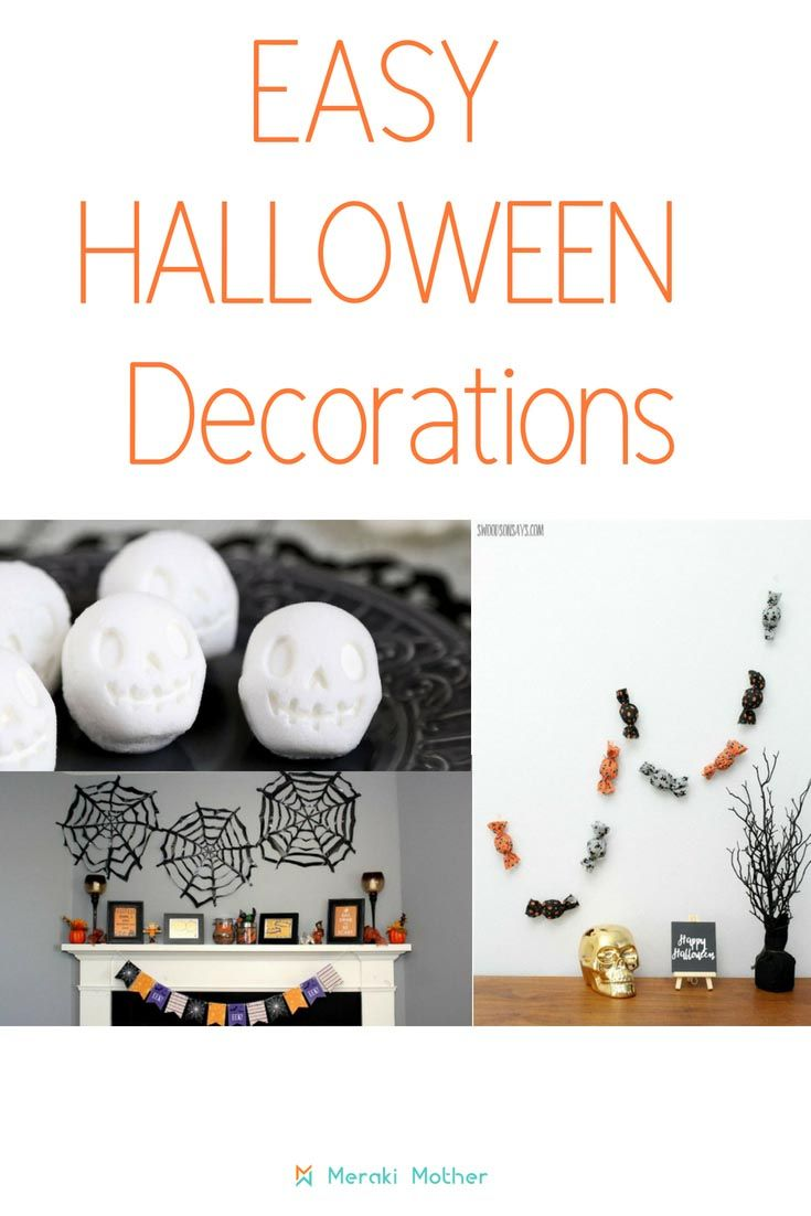 The Best Homemade Halloween Decorations HALLOWEEN DECORATING - Homemade Halloween Decorations Pinterest