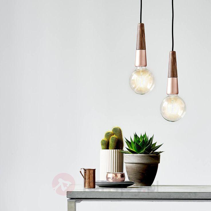Lampa wisząca Stripped – połączenie materiałów 7006026