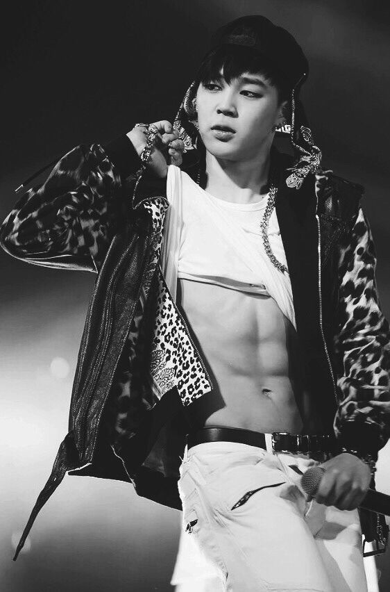 Bangtan Boys ❤ Park Ji Min (jimin) | love the abs.....