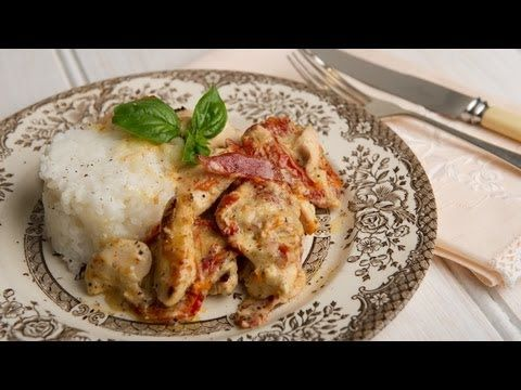 Creamy Bacon & Sun-dried Tomato Chicken, 4 Ingredients, Mains, Cooking with Kim