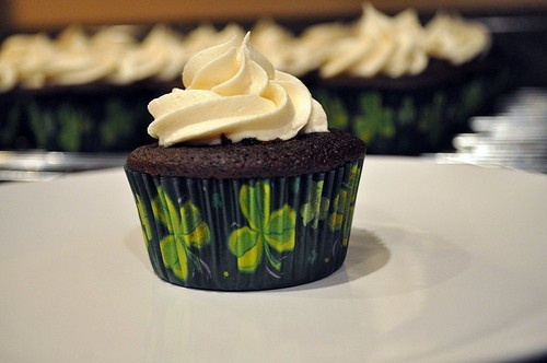 Guinness Cupcakes with Bailey's Irish Cream Frosting!! For the ...