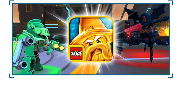 Download the LEGO NEXO KNIGHTS app