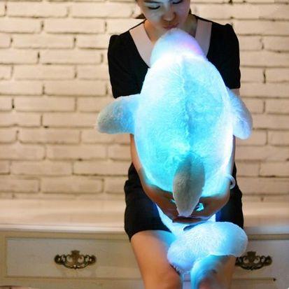 """Cute kawaii cartoon dolphins luminous hold pillow  Coupon code """"cutekawaii"""" for 10% off"""