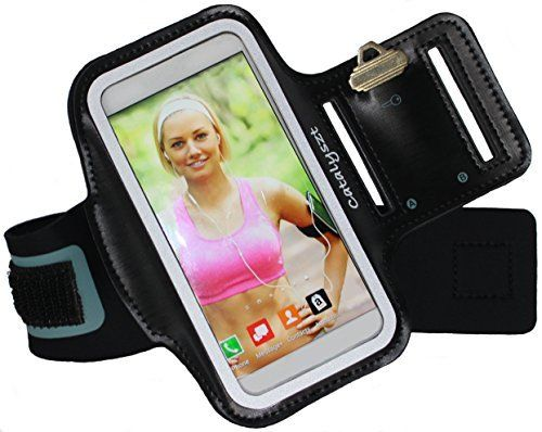 iPhone 6 6s Armband + Extender by Catalyszt ~ Fits iPhone 6 6s (4.7 inch) ~ Key Holder ~ Ideal Sports & Exercise Case for Running, Walking, Hiking, Biking, Gym Workouts ~ Adjustable, Extender Incl.