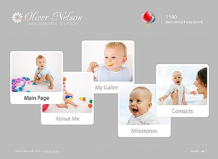 Oliver Nelson Flash Templates by Delta