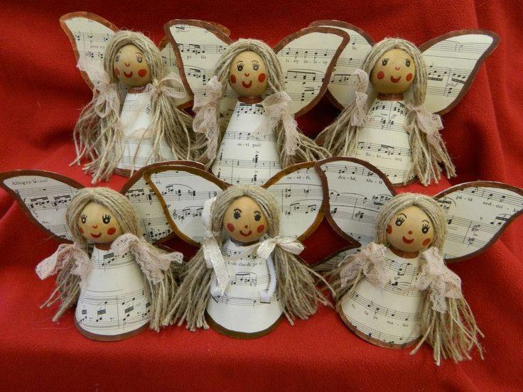 andělíčci z notové partitury