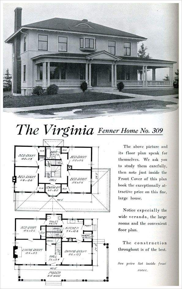 704 best Historic House Plans images on Pinterest Vintage houses