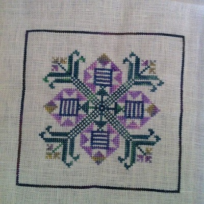 Manka Bloga SAL part 2 cross stitch
