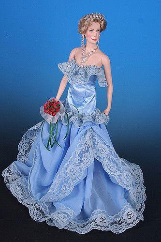 419 best Princess Diana Dolls images on Pinterest | Franklin mint ...