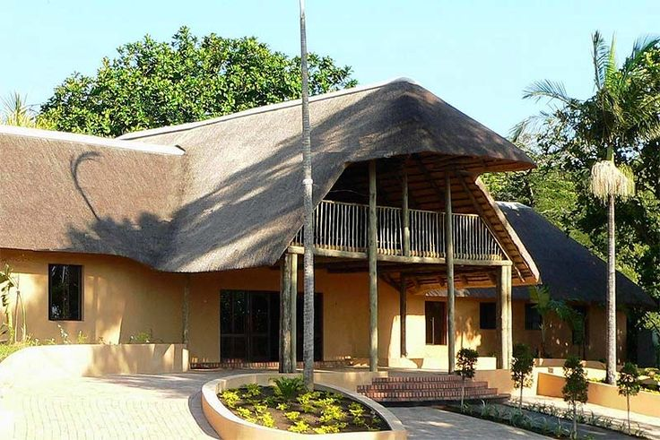 """AmaZulu Lodge B&B In St Lucia, Zululand See more http://www.wheretostay.co.za/amazululodge-bed-and-breakfast-accommodation-st-lucia-zululand  AmaZulu Lodge, an """"all African lodge"""", completely thatched, offers you the best of The Greater St Lucia Wetlands Park. Built around a huge, tropical inner garden, it is a top quality retreat in the St Lucia region. The central thatched lapa is the ideal area to either enjoy breakfast or relax with a drink in the evening."""
