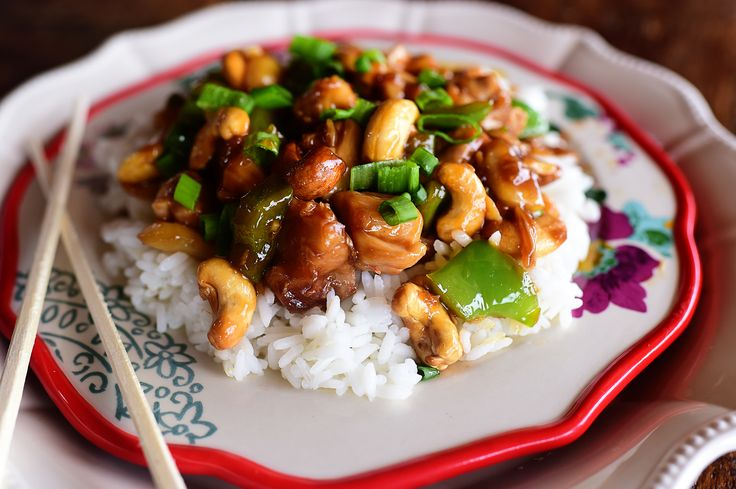 We have a post all about the merits of comfort food over on PW Life & Style today, and there's no other category I can put Cashew Chicken than that. Well, I guess there are a few other ca…