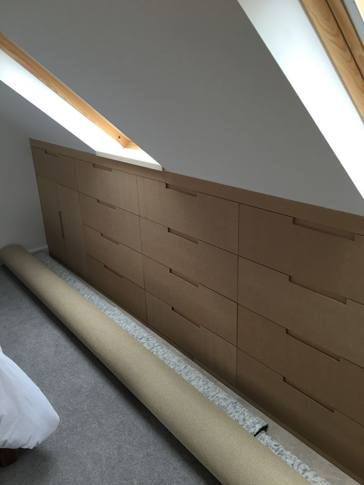 Loft Eaves storage