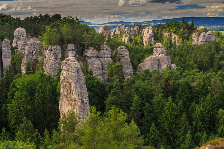Take a cross-country tour of the Czech Republic's most scenic places.