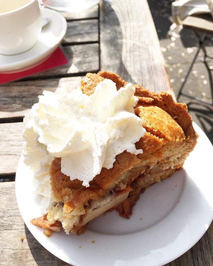 L'apple pie must try d'Amsterdam chez Winkel 43