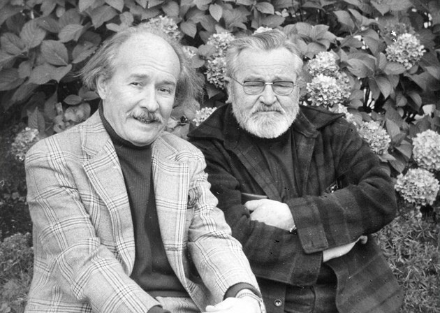 Jiří Voskovec and Jan Werich