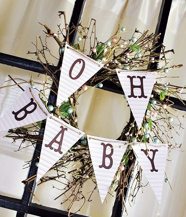 baby shower ideas by visually yours