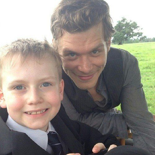 "Joseph Morgan With ""Little Klaus"" On Set (PHOTO) http://sulia.com/channel/vampire-diaries/f/1e18b363-96ff-4426-9b56-6b0a72c74205/?source=pin&action=share&btn=small&form_factor=desktop&pinner=54575851"