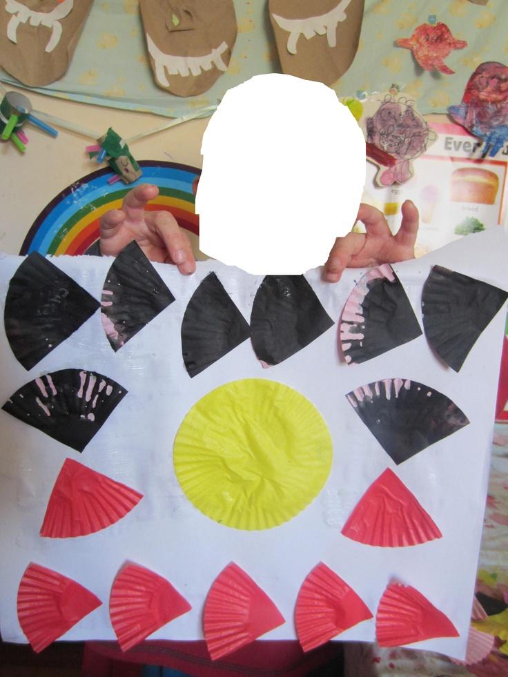 Aboriginal flag collage