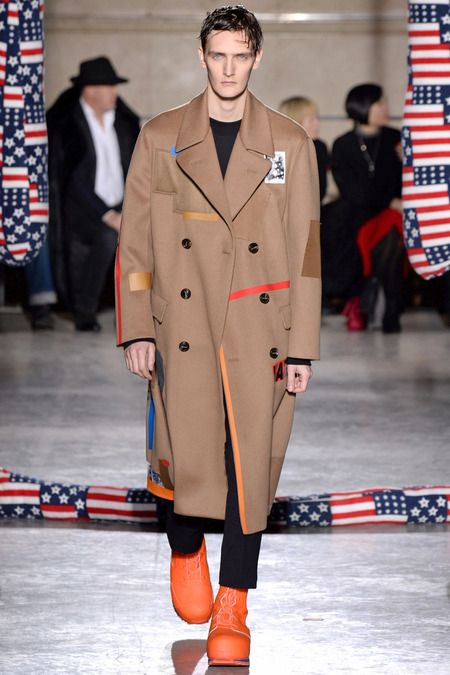 Smart topper--the rise of voluminous outerwear.  Raf Simons | Fall 2014 Menswear Collection | Style.com