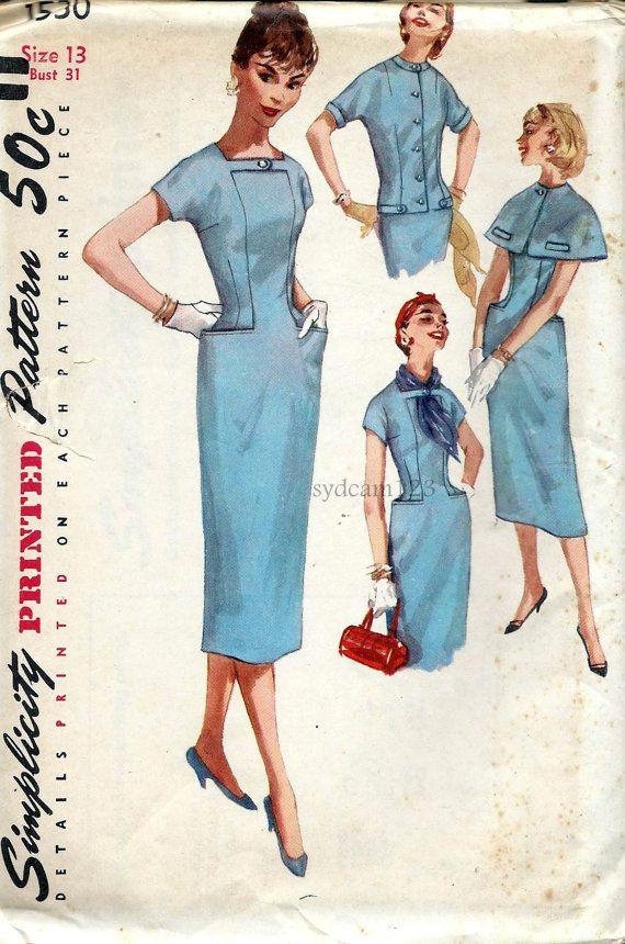 Vintage Schnittmuster Einfachheit 6269