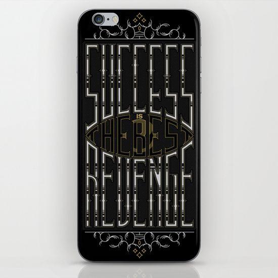 Success&Revenge #2 iPhone & iPod Skin