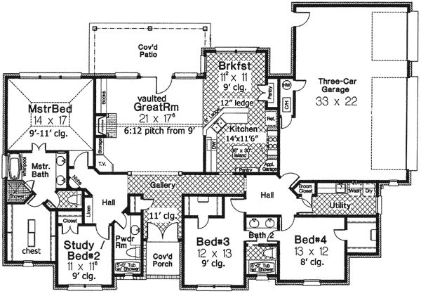 1000 images about house plan favourites 3 on pinterest for Half basement house plans