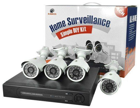 CCTV System (4 Channel)