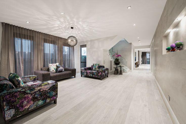 Pale Grey French Oak Floors