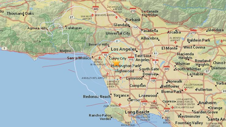Earthquakes Hit Baldwin Hills, Felt Across LA Earthquake Today  #EarthquakeToday