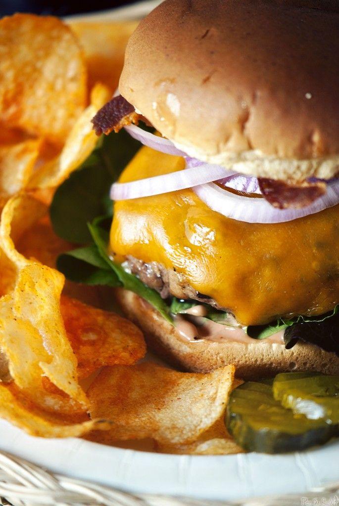 The Ultimate Steak House Burger | @Nakita Ferrell L. Roberts