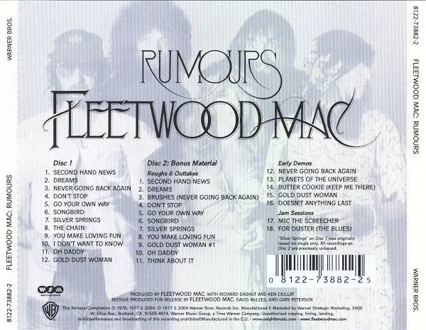 Fleetwood Mac ~ Rumours