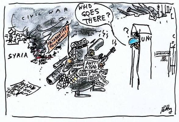 Bruce Petty - Civil War - Syria - UN - United Nations - Security Council