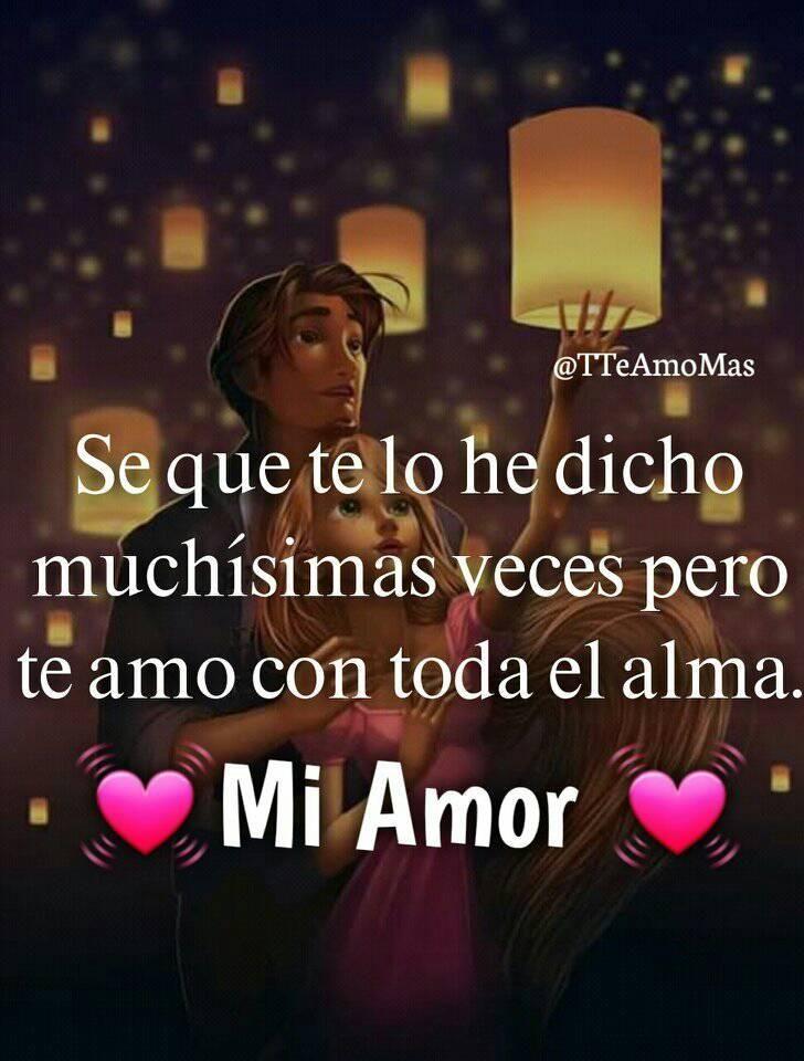 Mi Flaca Hermosa Buenas Noches Amor Mio Frases De Amor