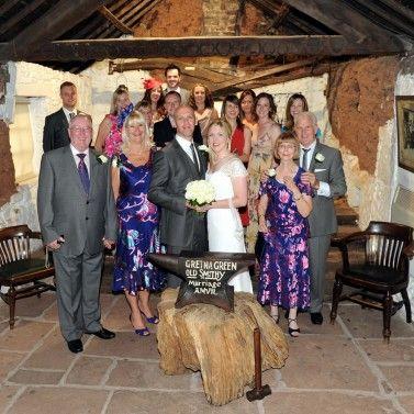 20 Guest Gretna Green Wedding Package