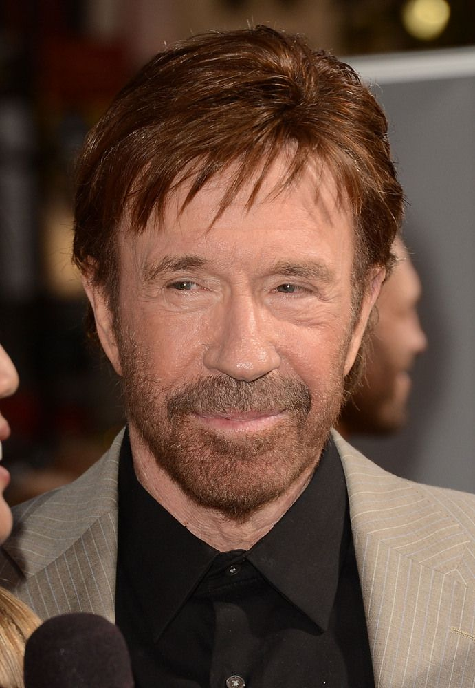 Celebrities Who Defy Their Age - Chuck Norris, 73 - naw,,,I don't agree with the mag who posted this...I have known Chuck since the late 50's when he had his first Karate studio in the Torrance, Cali area called Hollywood Riviera. - to me he's been around forever!