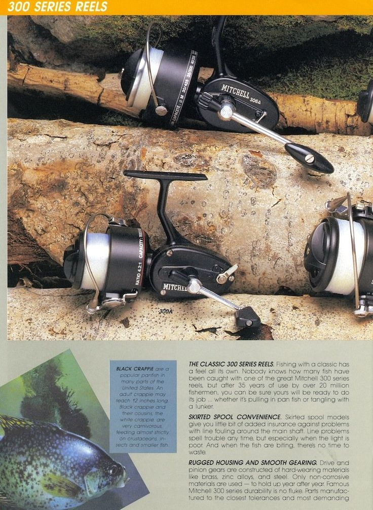 Ad for the mitchell 300 a fishing reel i found one for Mitchell 300 fishing reel