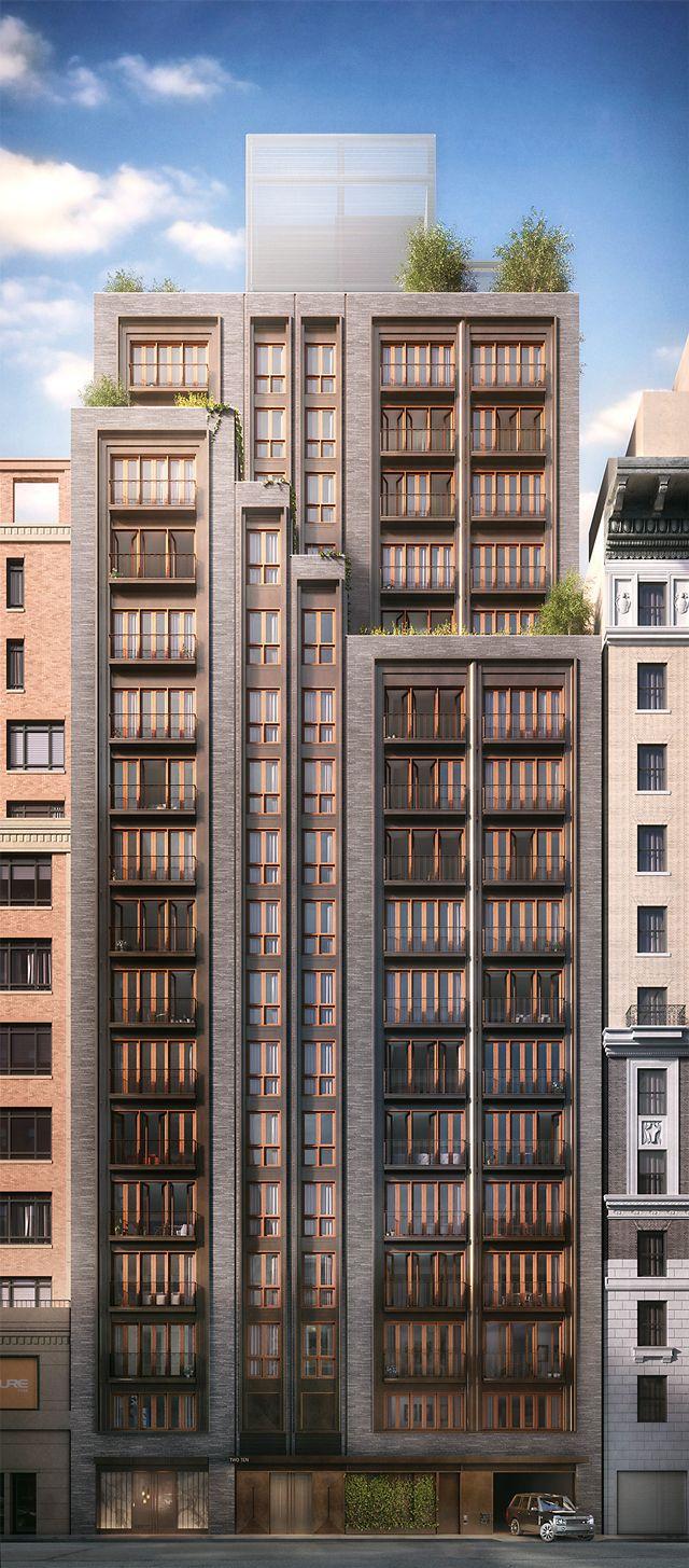 210 West 77th Street | 56m | 185 ft | 18 fl | Thomas Juul-Hansen