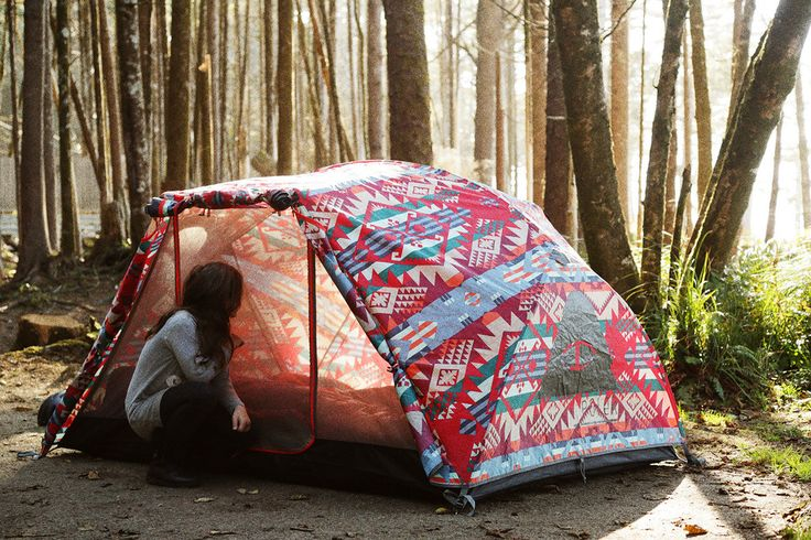 Creative Collabs | Run Away With Poler Stuff x Pendleton: Two Man Tent